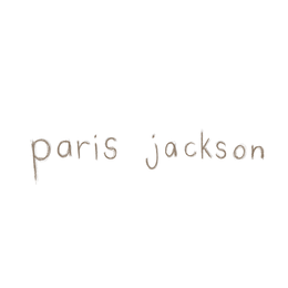 paris jackson merch