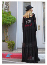 Load image into Gallery viewer, Clara Embroiedery Maxi Dress