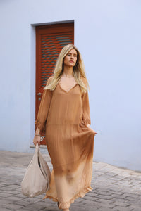 Elinor Low Waist Maxi Dress
