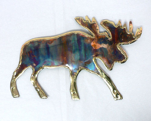 Copper Art Moose