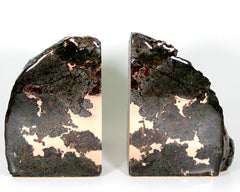 Copper Ore Bookends