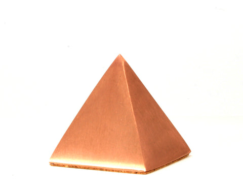 Solid Copper Pyramid - Large