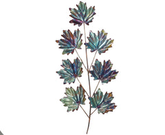 Copper Art 7 Leaf Maple Wall Decor