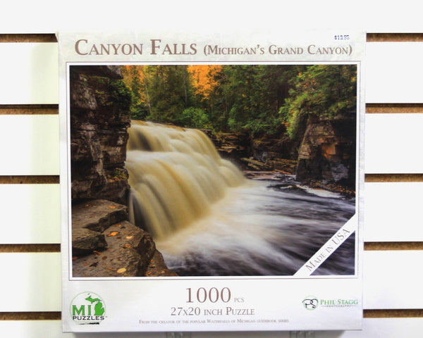 Canyon Falls 1000 piece puzzle
