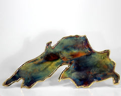 Copper Art Small Lake Superior Wall Decor