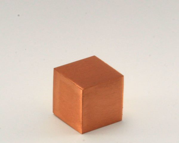 Solid Copper Cube