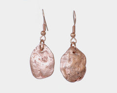 Native Copper Nugget Earrings