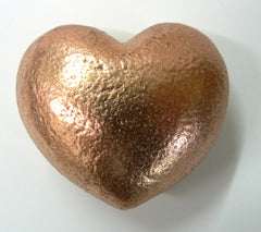 Solid Copper Heart