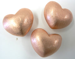 Solid Copper Heart Small