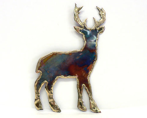 Copper Art Deer