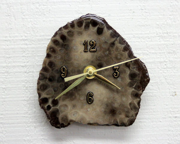 Petoskey Slab Clock #2