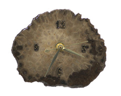 Petoskey Slab desk clock