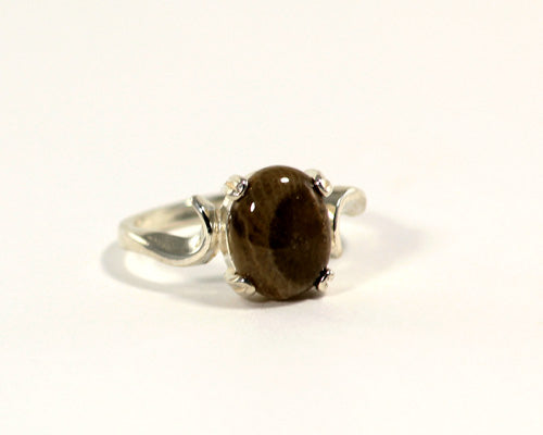 10x8mm Petoskey Stone Ring