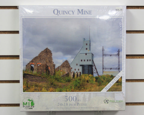 Quincy Mine 500 piece puzzle