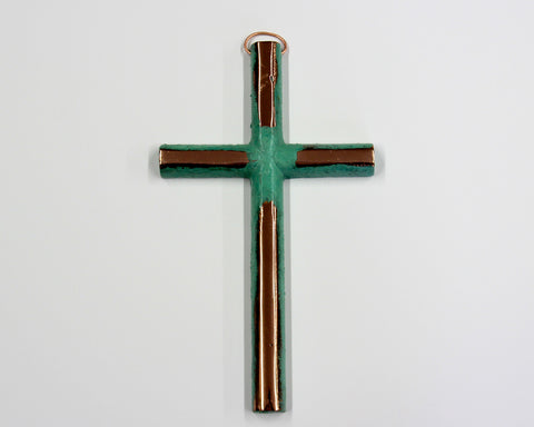 Solid Copper Cross - Large