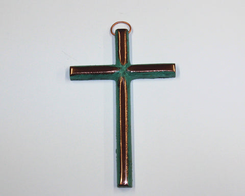 Solid Copper Cross - Medium