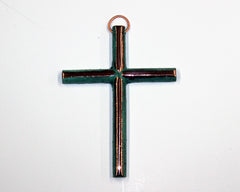 Solid Copper Cross - Small #1