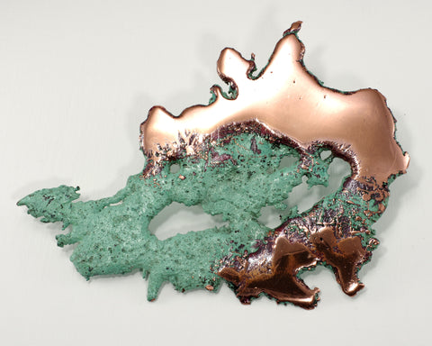 Splash Copper Wall Decorator