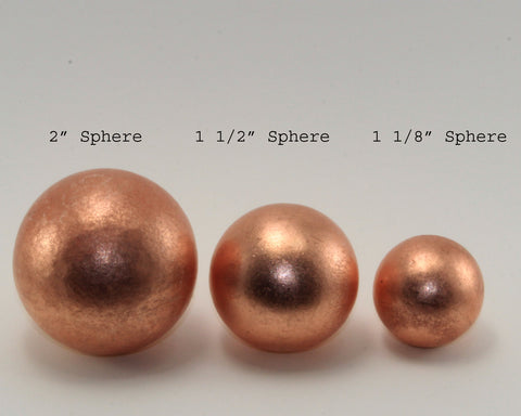 Solid Copper Sphere