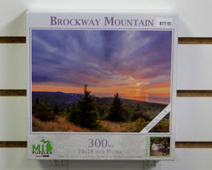 Brockway Mountain Sunset 300 piece puzzle