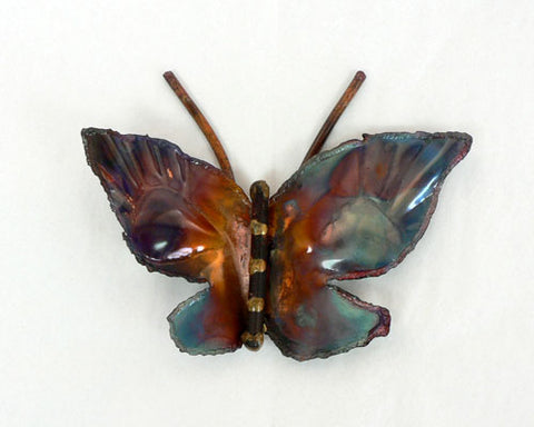 Copper Art Small Butterfly