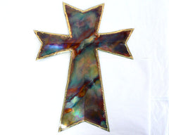Copper Art Large Cross
