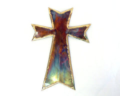 Copper Art Medium Cross