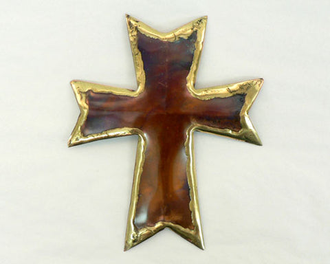 Copper Art Small Cross