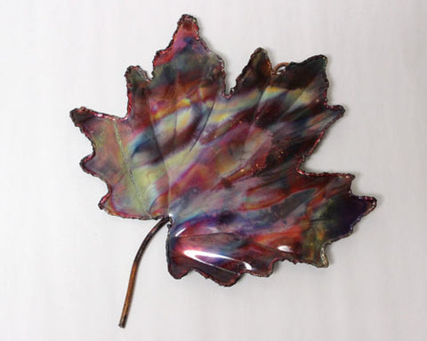 Copper Art Large Maple Leaf