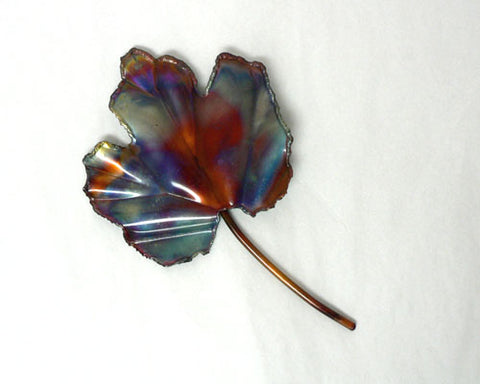 Copper Art Small Maple Leaf