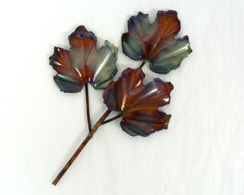 Small Copper Art 3-Leaf Maple