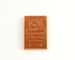 1 oz Copper ingot