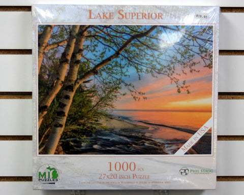 Lake Superior Shoreline 1000 piece puzzle