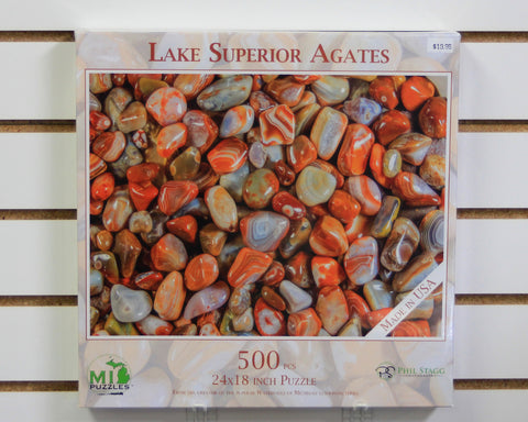 Lake Superior Agates 500 piece puzzle