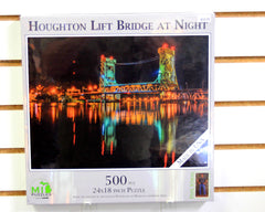 Houghton Lift Bridge at Night 500 piece puzzle