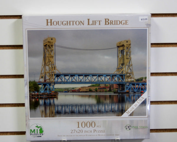 Houghton Lift Bridge 1000 piece puzzle
