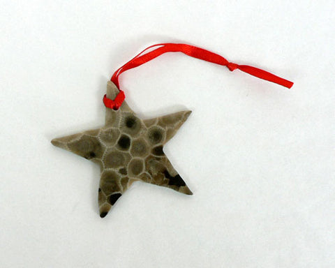 Petoskey Star Ornament