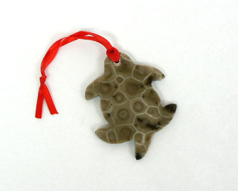 Petoskey Turtle Ornament