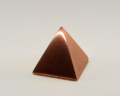 Solid Copper Pyramid - Small