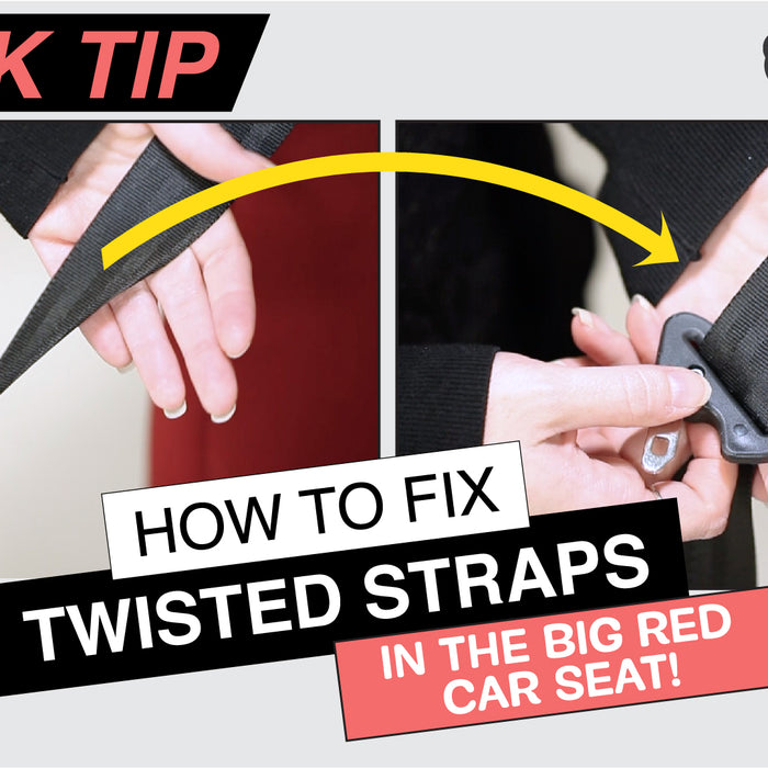 How to fix twisted straps (without losing your mind)!