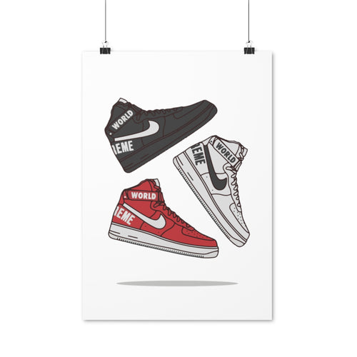 Nike Air Force 1 High Supreme - Artliv Shop