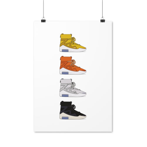 Nike Air Fear of God 1 Colors - Artliv Shop