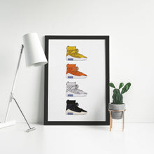 Load image into Gallery viewer, Nike Air Fear of God 1 Colors - Artliv Shop | Sneaker & Streetwear Posters