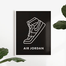 Laden Sie das Bild in den Galerie-Viewer, Air Jordan Sneaker - Artliv Shop | Sneaker & Streetwear Posters