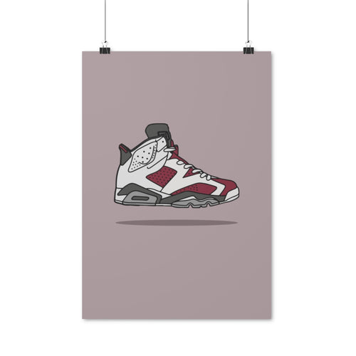 Air Jordan 6 Retro Carmine - Artliv Shop