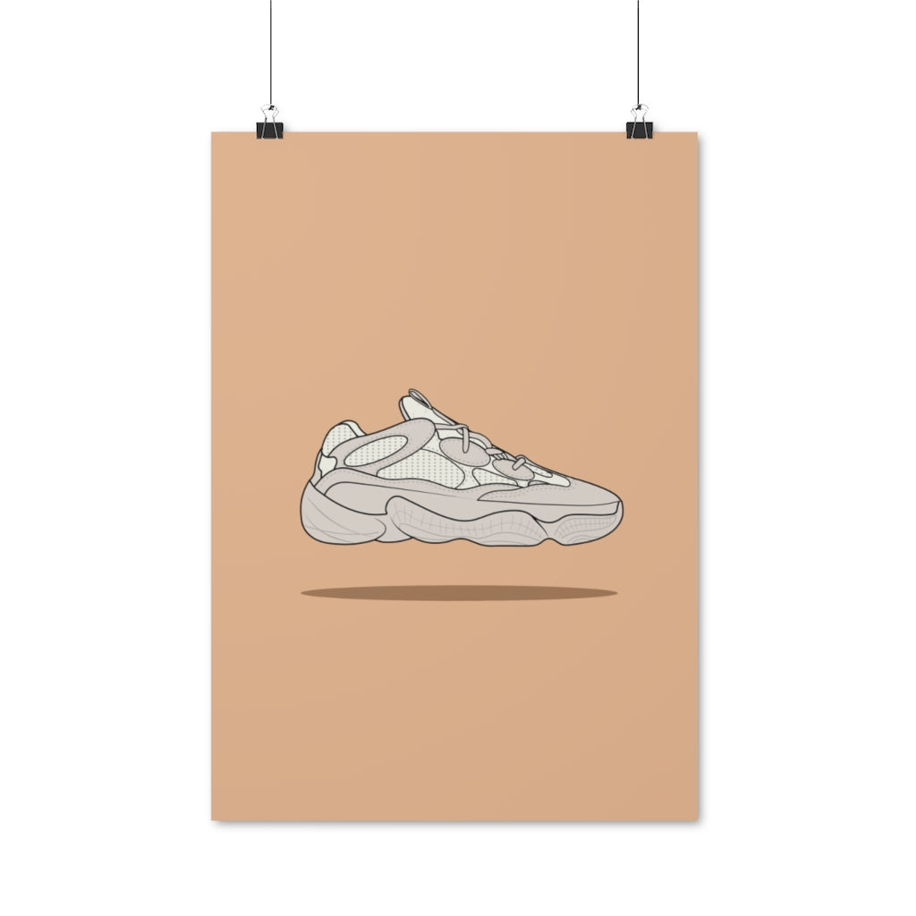 Yeezy 500 Blush/Desert Rat - Artliv Shop