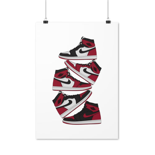Air Jordan 1 Reds - Artliv Shop