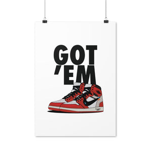 Air Jordan 1 Retro x Off-White Chicago - Artliv Shop