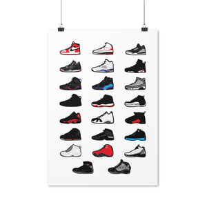 Air Jordan Collection - Artliv Shop | Sneaker & Streetwear Posters