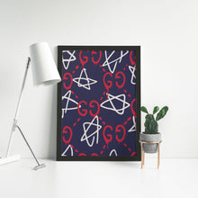 Load image into Gallery viewer, Gucci Ghost Pattern - Artliv Shop | Sneaker & Streetwear Posters